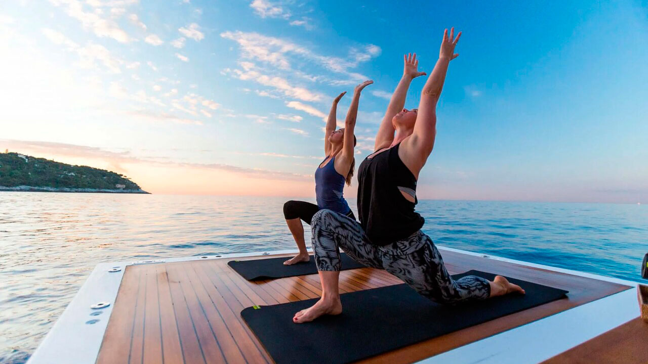 Йога тур на яхті в Туреччині